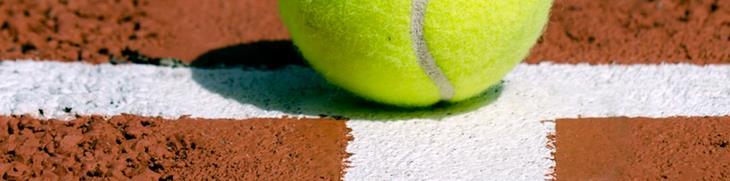 Halve tennisbal